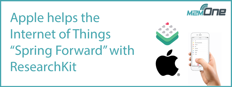 "Apple helps the Internet of Things ""Spring Forward"" with ResearchKit"