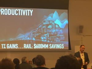 1% Savings in Rail can equal up to $600 Million in savings!