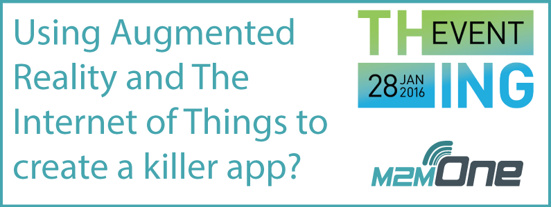 Using Augmented Reality (AR) and The Internet of Things (IoT) to create a killer app?