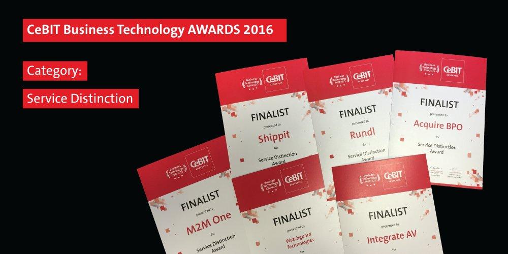 M2M One CeBIT Award Nomination