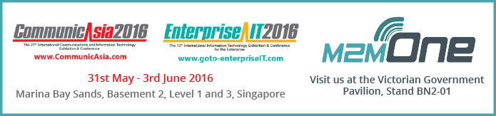 M2M One CommunicAsia 2016