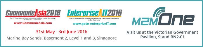 M2M One CommunicAsia 2016