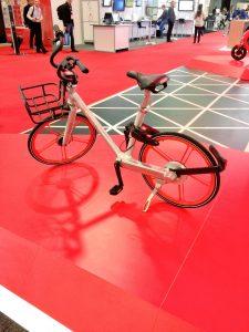 Bicycle on display